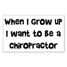 When I Grow Up Rectangle Decal