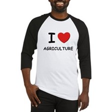 I love agriculture Baseball Jersey
