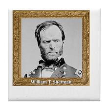 Uncle Billy Sherman Tile Coaster