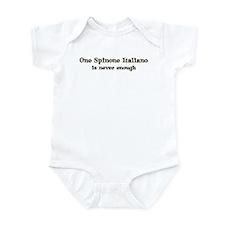 One Spinone Italiano Infant Bodysuit