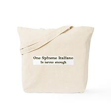 One Spinone Italiano Tote Bag