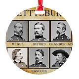 Civil war Round Ornament