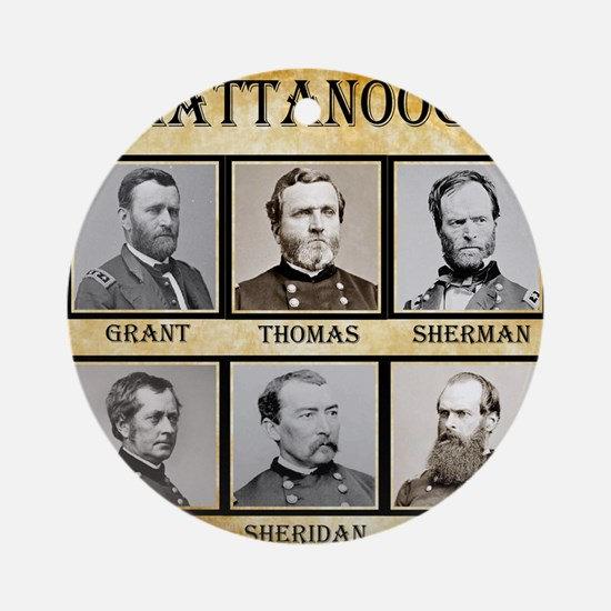Chattanooga - Union Round Ornament