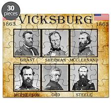 Vicksburg - Union Puzzle
