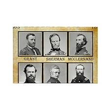 Vicksburg - Union Rectangle Magnet