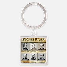 Stones River - Union Square Keychain