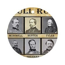 Bull Run (1st) - Union Round Ornament