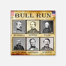 "Bull Run (1st) - Union Square Sticker 3"" x 3"""