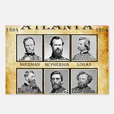 Atlanta - Union Postcards (Package of 8)