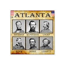 """Atlanta - Union Square Sticker 3"""" x 3"""""""