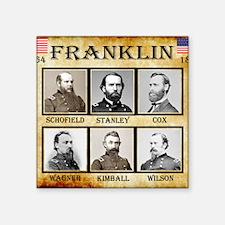 """Franklin - Union Square Sticker 3"""" x 3"""""""