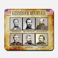Kennesaw Mountain - Union Mousepad