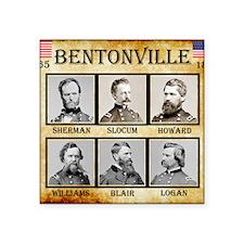 "Bentonville - Union Square Sticker 3"" x 3"""