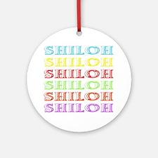 Shiloh Round Ornament