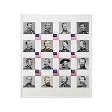 Union Warriors Throw Blanket