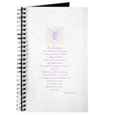 Butterfly Baby Journal with Poem