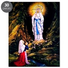 Our Lady of Lourdes 1858 Puzzle