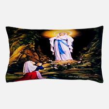 Our Lady of Lourdes 1858 Pillow Case