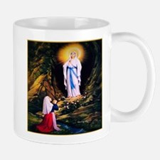 Our Lady of Lourdes 1858 Small Small Mug