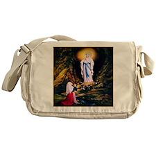 Our Lady of Lourdes 1858 Messenger Bag