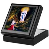 Saint bernadette Keepsake Boxes
