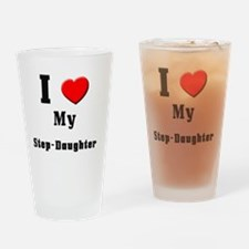 Step-Daughter Drinking Glass
