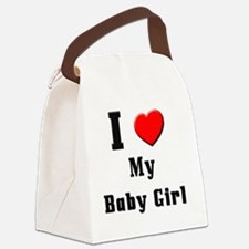 Baby-Girl Canvas Lunch Bag