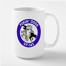 VF-143 Pukin' Dogs Large Mug