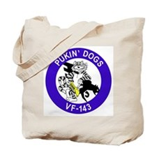 VF-143 Pukin' Dogs Tote Bag