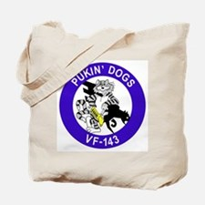 VF-143 Pukin' Dogs Tote Bag