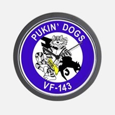 VF-143 Pukin' Dogs Wall Clock