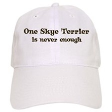 One Skye Terrier Baseball Cap