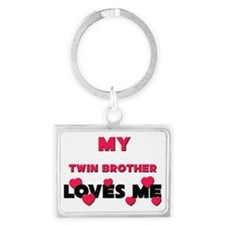 TWIN-BROTHER Landscape Keychain