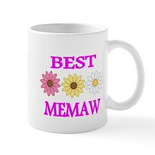 BEST MEMAW WITH FLOWERS 2 Mug