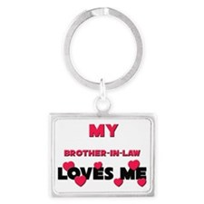 BROTHER-IN-LAW Landscape Keychain