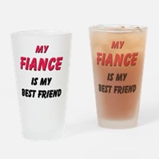 3-FIANCE Drinking Glass