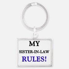 4-3-SISTER-IN-LAW Landscape Keychain