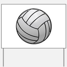 Volleyball Yard Sign