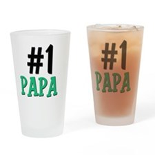 6-5-4-3-PAPA Drinking Glass