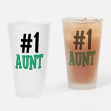4-3-AUNT Drinking Glass