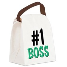 5-4-3-BOSS Canvas Lunch Bag