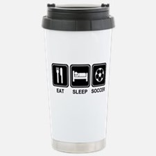 EAT SLEEP SOCCER Travel Mug