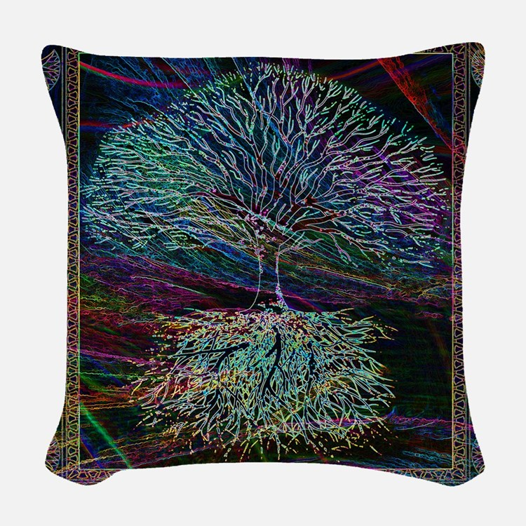 Wishes Woven Throw Pillow