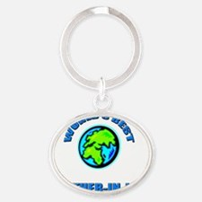 4-3-BROTHER-IN-LAW Oval Keychain