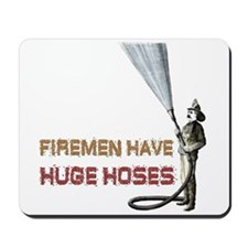 Funny Firefighter Mousepad