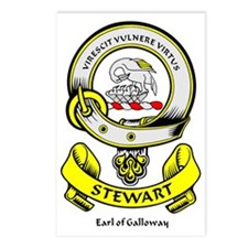 STEWART-OF-GALLOWAY Postcards (Package of 8)