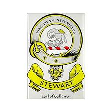 STEWART-OF-GALLOWAY Rectangle Magnet