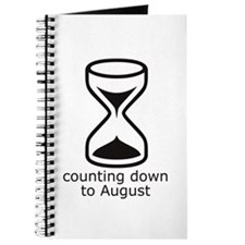 counting down August due date Journal