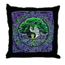Tree of Life Balance Throw Pillow