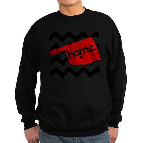 Oklahoma HOME State Crimson Sweatshirt